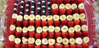 4th of July flag fruit dessert 8