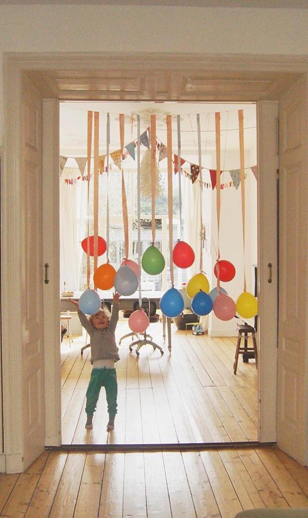 Kids' Birthday Party Ideas -Garlands