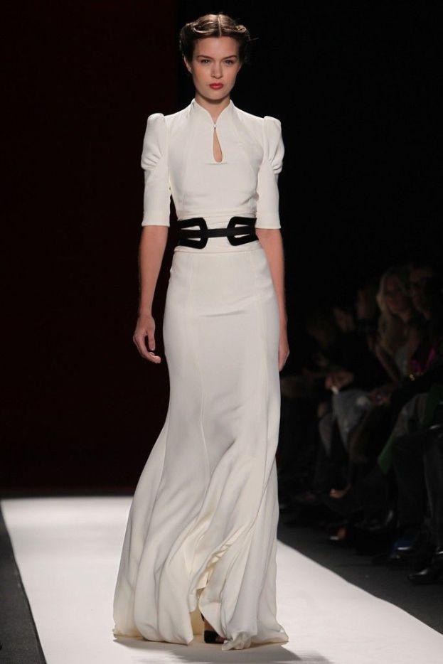 carolina herrera wedding dresses fall-winter 2017-2018