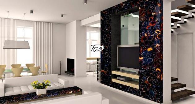 precious stones used in interiors 1