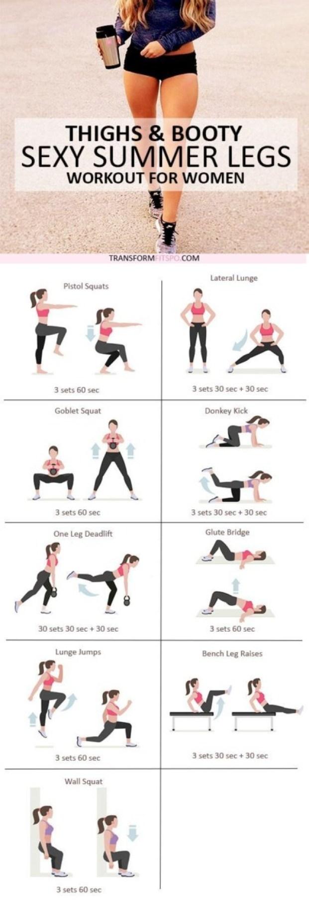 best leg workouts for women