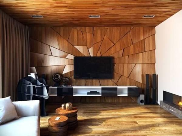 wood tv wall design ideas