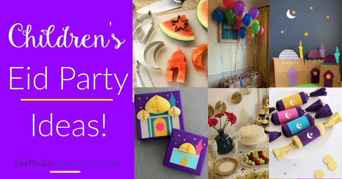 Colour in Eid Cards Happy Eid Faith Mixed Set Children Fun Party