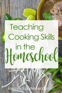 Cooking-Skills-iHomeschool Net