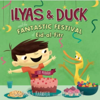 Books about Eid for children Ilyas and duck