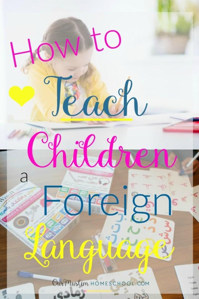foreign language games children