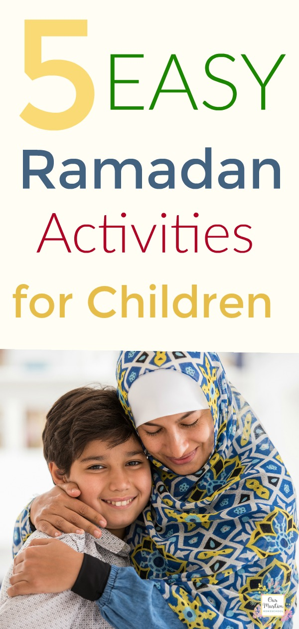 Easy children activities for Ramadan