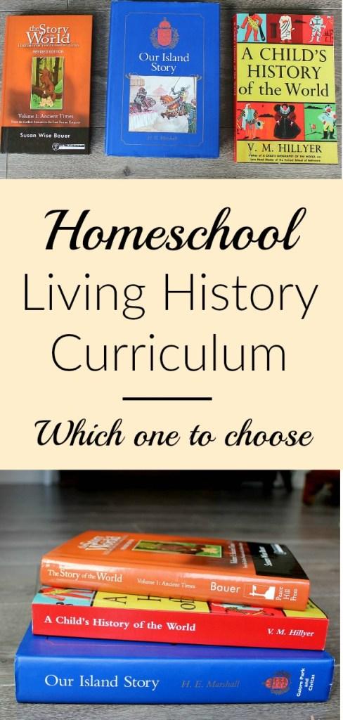 homeschool history living books curriculum