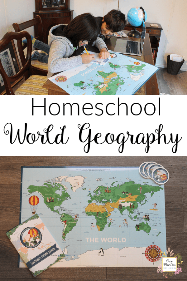 Homeschool World Geography Archibold Clutterbuck