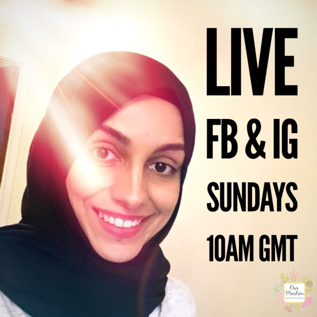 LIVE Muslim homeschool chat