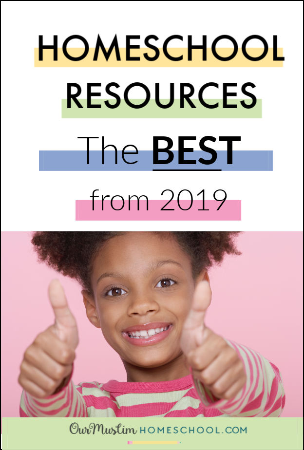Homeschool Resources | Our favourites from 2019, to help you pick the Best Homeschool resources for your children!