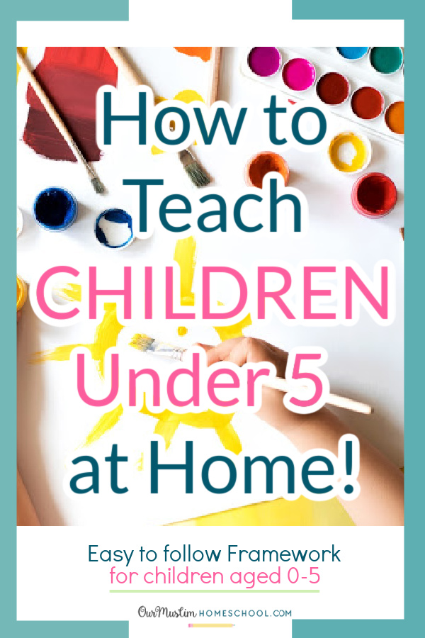 Preschool activities at home - how to educate children aged 0-5 at home