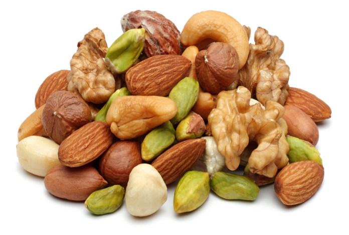 healthy diet - nuts