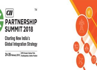 The partnership summit 2018 begins today in Vishakhapatnam