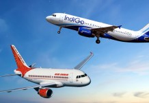 Indigo and Air India