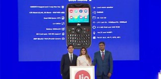 Reliance Jio launches new JioPhone 2 at Rs. 2999