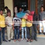 नागपुर : कामठी मार्गावर ९ टन गोमांस जप्त : १० जन पोलिसांच्या ताब्यात
