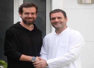 Jack Dorsey & Rahul Gandhi
