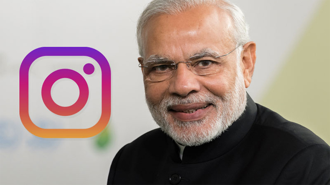 Narendra Modi On Instagram