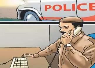 पत्नी पोलीस मुख्यालयात ड्युटीवर जात असताना पतीने रस्त्यात थांबवले आणि मग.....