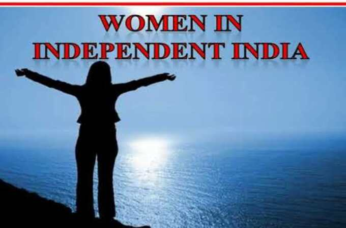 women independent India