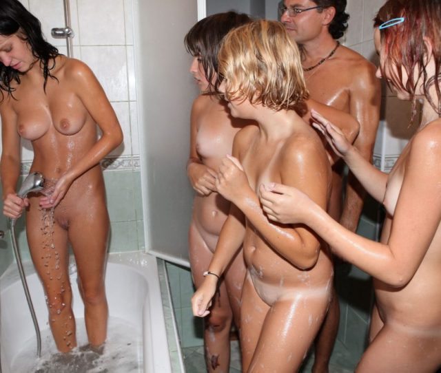 Sexy Female Teenagers Naked In The Shower