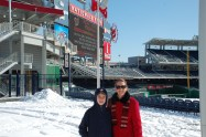 Mom and I at NatsFest in 2010