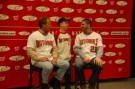 My chance to get a picture with then-manager Jim Riggleman and then-Nat Jason Marquis