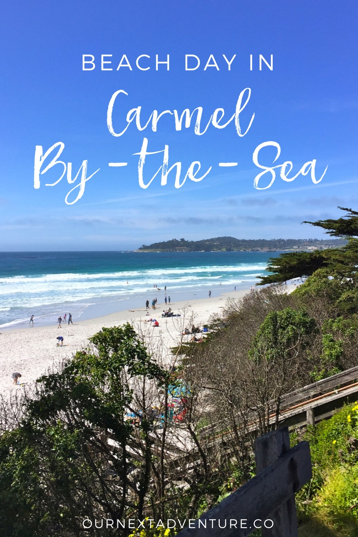 The perfect beach day in Carmel, California starts with picnic fare from Carmel Belle. // Family Travel | Travel with Kids | California Road Trip