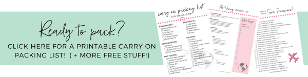 Free Printable Family Travel Packing Lists and Planning Worksheets