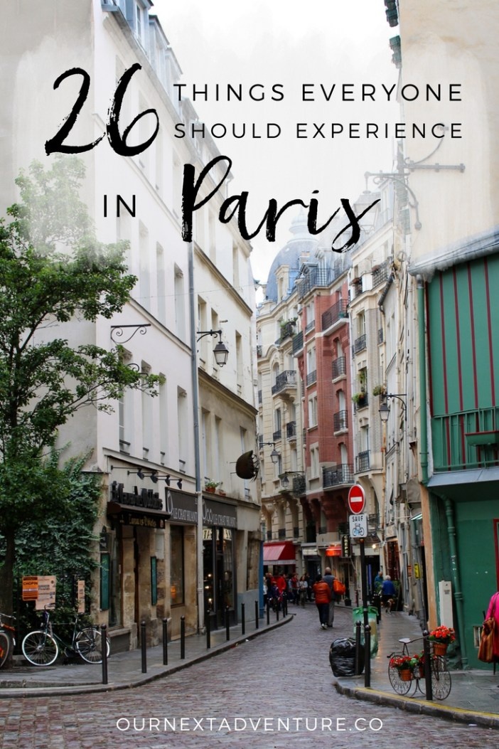 Our favorite memories of Paris, summed up by 26 amazing experiences // Europe Travel | France | Paris Itinerary | 3 Days in Paris | Top Things to Do | Where to Eat | What to See
