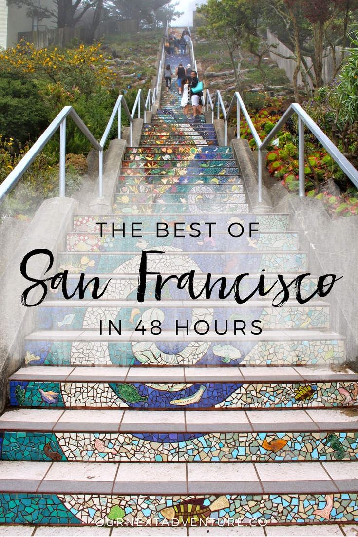 The Best of San Francisco in 48 hours: the perfect 2 day itinerary for all the must-see sights! // California Road Trip | Family Travel | Travel with Kids