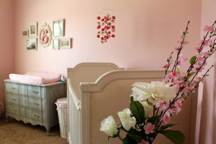 Evelyn's Pink Paris Inspired Nursery | ournextadventure.co