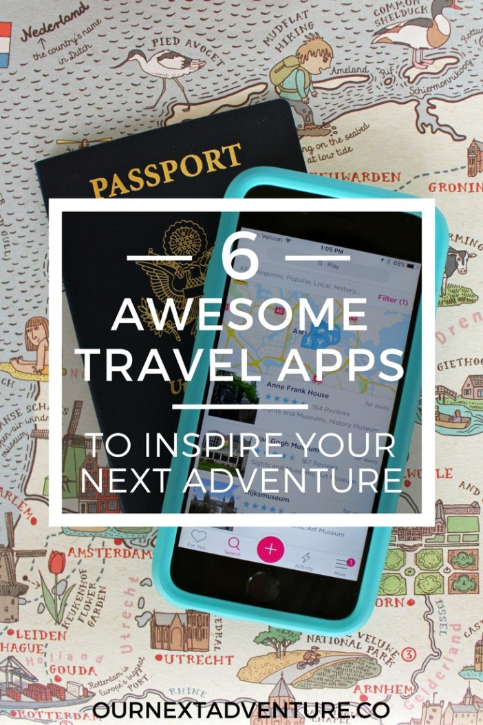 6 of the best travel apps for inspiration and help planning your next trip. #familytravel #travelresources // Family Travel | Travel with Kids | Trip Planning Resources | Travel Apps | Travel Guides | What to Do | Where to Eat | Family Vacation Ideas | Best Trips with Kids | Family Friendly Itinerary