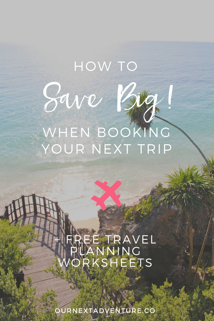 Save on flights, hotels and more with these tips! // Family Vacation | Travel wtih Kids | Cheap Flight Deals