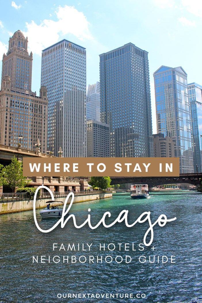 5 of our favorite Chicago neighborhoods that are best for families with kids + family hotel recommendations. #chicago #family travel // Family Travel | Travel with Kids | US Travel | USA | United States | Midwest Travel | Chicago Itinerary | Vacation Ideas | Things to Do | Best Neighborhoods | Best Place to Stay | Family-Friendly | Kid-Friendly | Hotels and Motels | Airbnbs | Neighborhood Guide | Where to Stay | Best Hotels | Affordable Hotels for Families