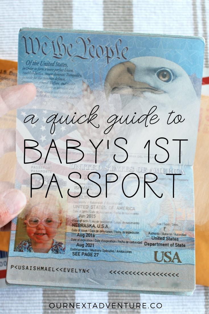 How to get a passport for a baby. It's actually quite simple! // Family Travel | Travel with Kids | Flying with Baby | Mexico with Kids | How to | What Do You Need | Child Passport Application