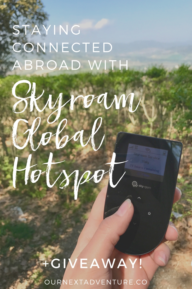 Staying Connected Abroad With Skyroam Global Hotspot Our