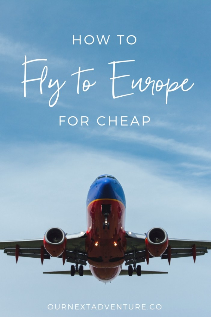 How to take advantage of cheap flight deals, no matter where you live, and fly to Europe for cheap too! // Budget Travel | Family Travel | Flying with Kids | How to Save Money on Travel | Affordable Family Travel | Cheap Fares | Flight Deals | Budget Airlines | Europe | Italy | France | Spain | Germany | England