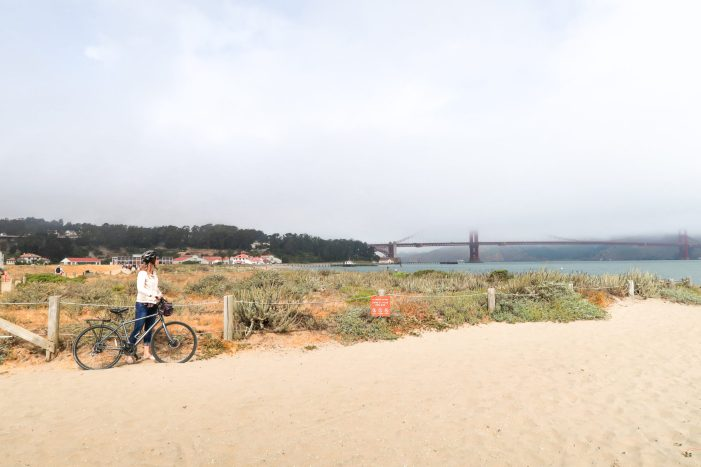 How to bike the Golden Gate Bridge: our best tips for bike rentals, routes, and more! #sanfrancisco #california #familytravel #sfbayarea #bucketlist #travelwithkids #goldengatebridge // San Francisco Family Travel | SF Bucket List | How to Bike the Bridge | Golden Gate Bridge Bike Rentals | San Francisco by Bike | Sausalito Day Trip | Kids Bike Rentals | San Francisco | SF Bay Area | California Travel