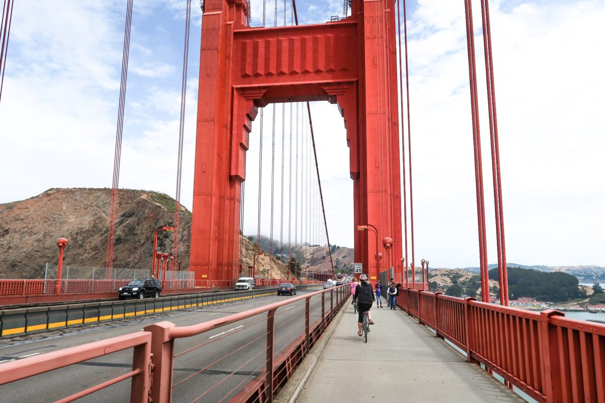 How to bike the Golden Gate Bridge: our best tips for bike rentals, routes, and more!