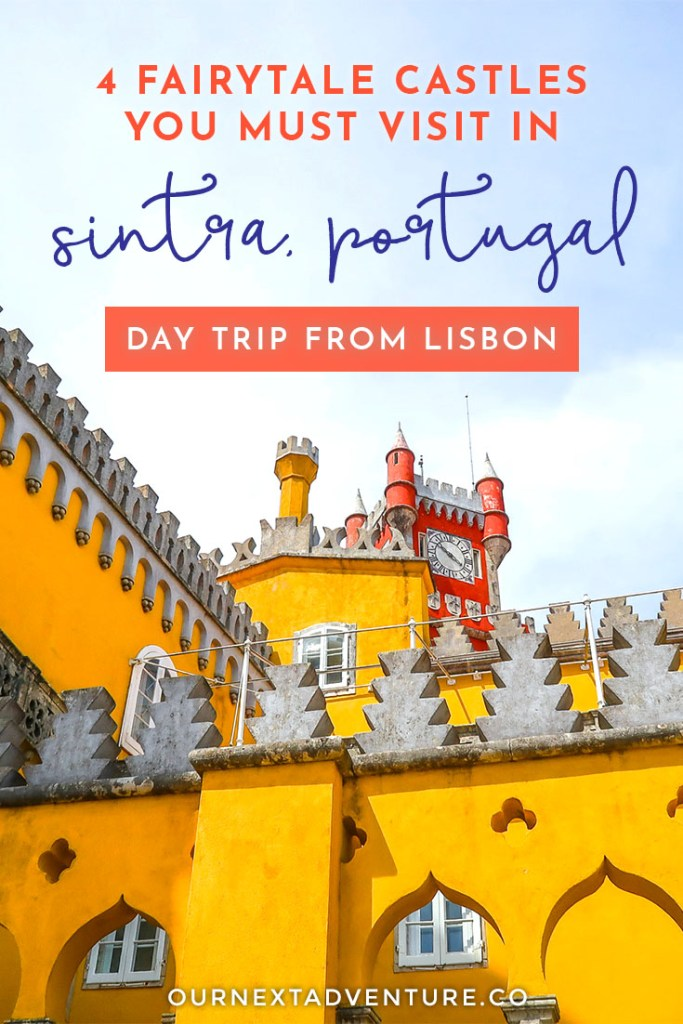 See the best of Sintra, Portugal in just one day with this self-guided itinerary for the perfect Sintra day trip from Lisbon. #sintra #portugal #lisbon #europewithkids #familytravel // Sintra Day Trip Itinerary | Must-See Sintra Castles and Palaces | Self-Guided Tour of Sintra | Sintra Map | Best Day Trips from Lisbon | How to Get to Sintra from Lisbon | Where to Buy Tickets for Sintra | Pena Palace | Quinta da Regaleira | Portugal Family Travel | Lisbon with Kids | Best Cities in Portugal