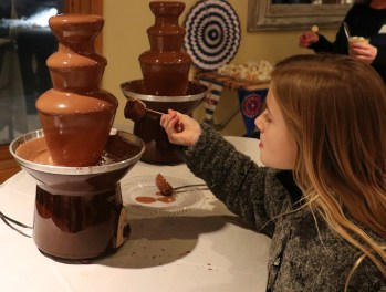 Even a chocolate Fountain