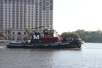 Tugboats...