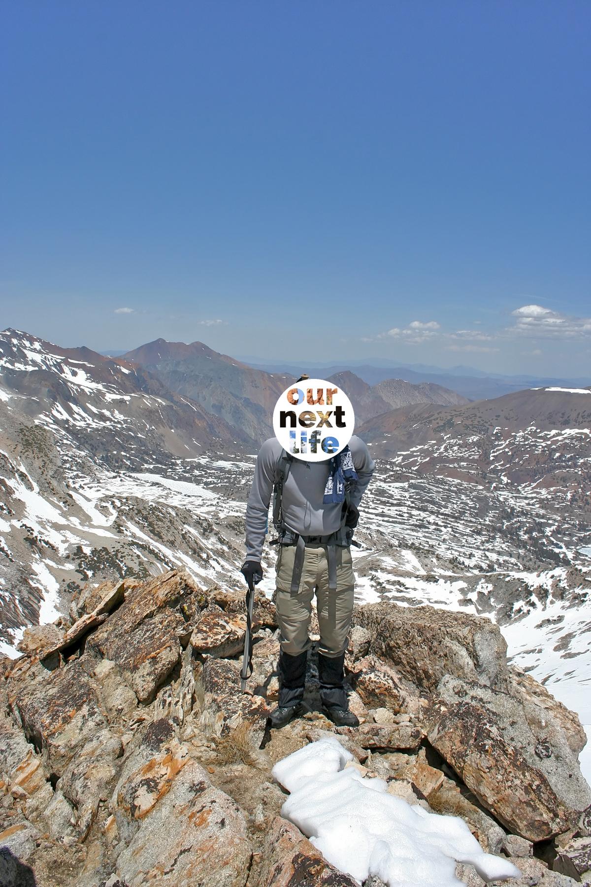 Mr. ONL mountaineering