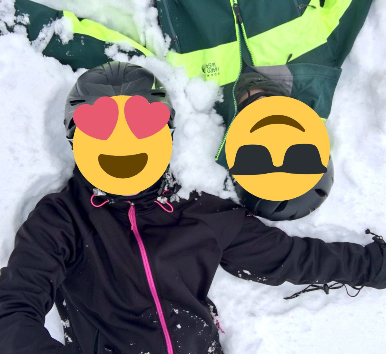 Mr and Ms ONL in deep snow