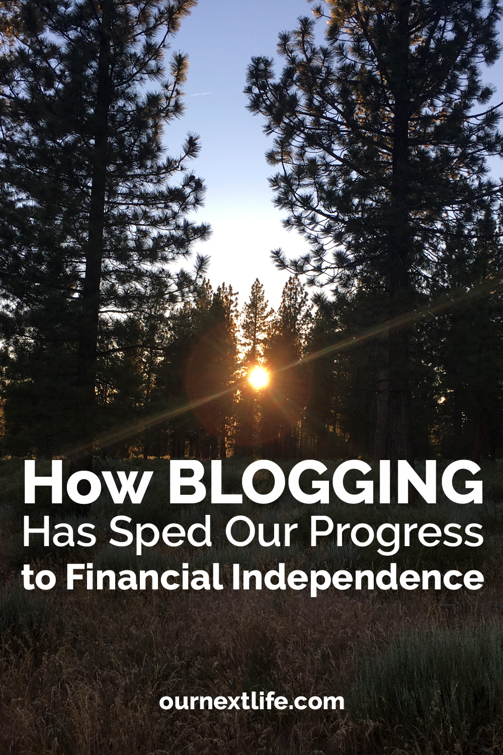 How Blogging Has Sped Our Progress To Financial Independence // Blogging has been so much more rewarding than we ever could have anticipated, but best of all, it has helped us get to FI faster!