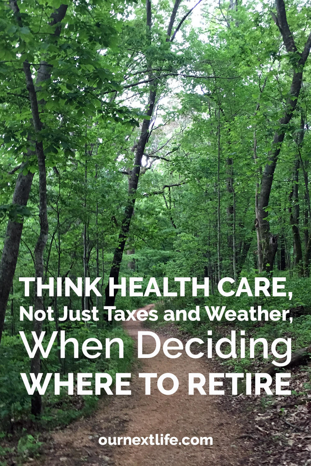 Think Health Care, Not Just Taxes and Weather, When Deciding