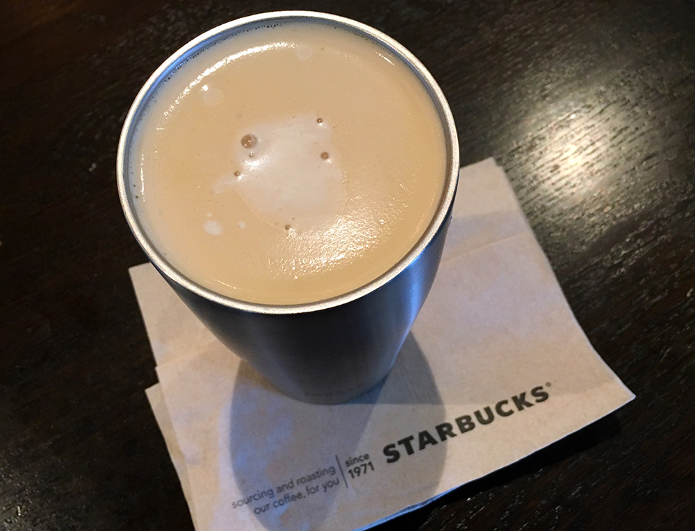 Starbucks nitro cold brew with sweet cream