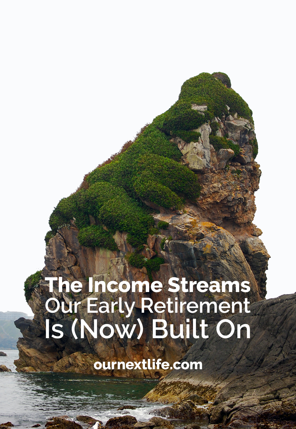 The income streams and cash flow sources that will fund our early retirement. Selling shares, dividends, rental income, personal loan payments and even a little bit of very part-time work!